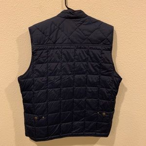 Frank & Oak Jackets & Coats - Frank and Oak navy Dartmouth quilted puffer vest
